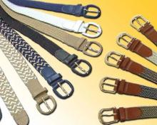STRETCH BRAIDED BELTS